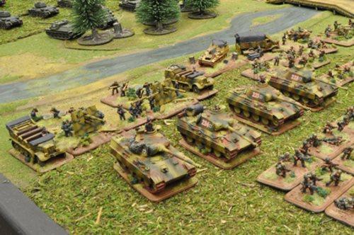 Figurines Chars Deuxième Guerre Mondiale