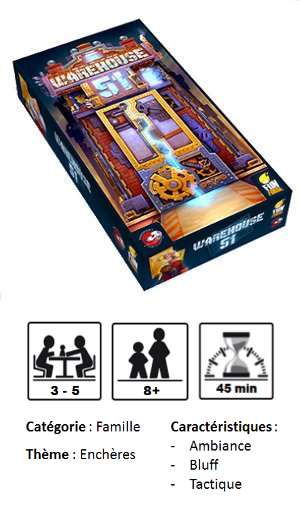 Jeu Warehouse 51