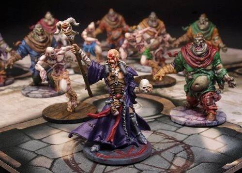 Jeu Zombie avec Figurines